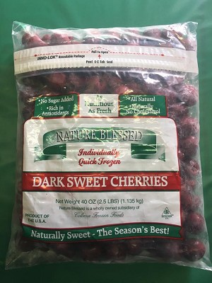 Fresh Frozen Dark Sweet Cherries